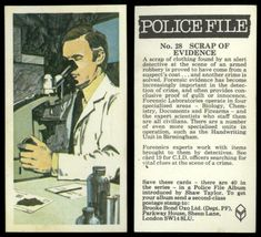 Police File, The Sweeney, Shot Put, Forensic Science, Forensics, Biology, Detective, Crime, Bond