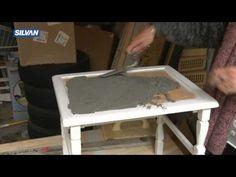Her kan du se, hvordan du selv moderniserer og genopfrisker et gammelt kakkelbord.