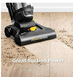 Good suction power makes easier to clean all kinds of dirt,dust,debris,and also pet hair. Affordable.