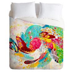 Stephanie Corfee Abstract Free Spirit Duvet Cover | DENY Designs Home Accessories