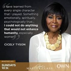 Cicely Tyson quote. She is 91 and still a style icon! See her amazing hair transformations over her career