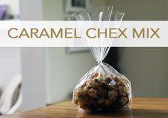Caramel Corn Chex Mix