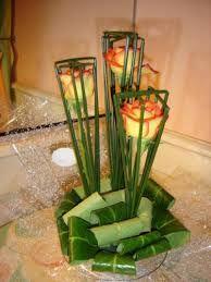 Afbeeldingsresultaat voor montage floral avec tressage