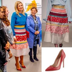 Queen Maxima, Windsor, Royals, Dutch, Europe, Pumps, Skirts, Outfits, Instagram