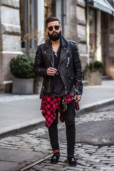 Pictures of street punk fashion men - Rugged Style, Indie Outfits, Grunge Outfits, Concert Outfits, Hipster Outfits Men, Hipster Clothing, Hipster Man, Rock Outfits, Dapper Gentleman