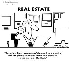 The sellers have taken care of the termites and radon, and the geological survey shows no kryptonite on the property, Mr. Kent.