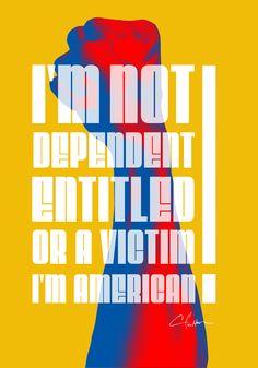 I'M AMERICAN | POSTER DESIGN