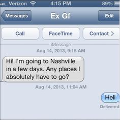 TextsFromYourEx: 10 Worst text messages sent from your ex
