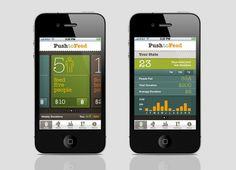 PushtoFeed - Postmammal. Great functional and beautiful app design