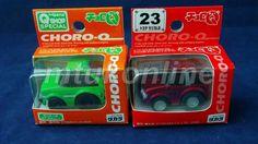 CHORO-Q STD & Q-SHOP 2005 | TOYOTA CELICA LB GT & GT-RALLY 1977 | LAST PAIR