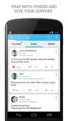 Instapray - pray for prayers! - screenshot