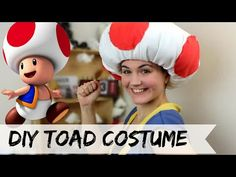 DIY Toad costume (No Sew) - YouTube
