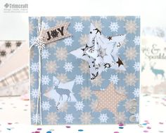 The starry Magic and Sparkle collection will be wonderful to use this Christmas!