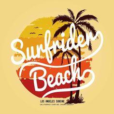 Placa Decorativa Los Angeles Sunsine - AdsiveShop Adesivos Decorativos de Parede