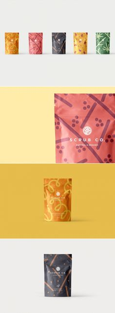 The Coffee Scrub Line Where Every Flavor is Your Favorite — The Dieline | Packaging & Branding Design & Innovation News