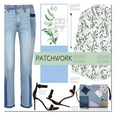 """""""Patchwork"""" by sweta-gupta ❤ liked on Polyvore featuring Paige Denim, Equipment, Gianvito Rossi, Marc Jacobs, patchwork, polyvoreeditorial and polyvorecontest"""