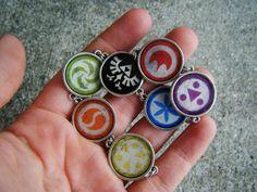 Zelda Ocarina of Time : Six Sages medallion bracelet $24.99