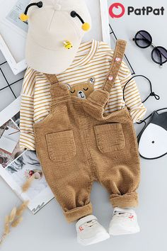For babies from 6 months to 4 years old. Discover more fashion of baby clothing at Sewing Baby Clothes, Trendy Baby Clothes, Toddler Outfits, Baby Boy Outfits, Kids Outfits, Cute Babies, Baby Kids, Toddler Jumpsuit, Baby Boy Dress