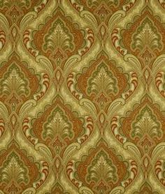 Robert Allen Paisley Grace Harvest Fabric - $28.3 | onlinefabricstore.net