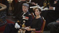 Kronprinsparret mindedes faldne udsendte | Billed Bladet
