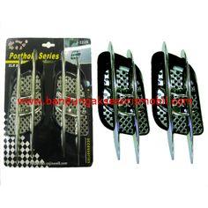 Air Flow J-3229.  1 Set : 2 pcs. Bahan : Plastik ABS. Fungsi : Hiasan Variasi pada Cap Mesin Mobil. Warna : Kombinasi hitam dan chrome, Sesuai Gambar. Pemasangan : Bisa Dipasang Sendiri, sudah tersedia lem, tinggal ditempel.  Harga : 101.000. Berat Packing : 1 kg.  Order Call / SMS / WA : 0896-6105-1299. BBM : 526FC5B2 (NEW) / 2B2E9B22.  #airflow #variasimobil   #aksesorismobil #eksterior