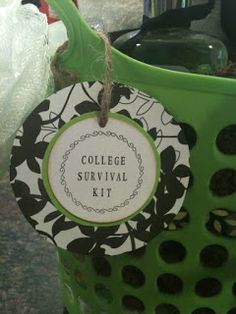 Just for You by Jessica: College Dorm Survival Kit