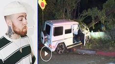 Mac Miller crashed his Mercedes G wagon while drunk, then took off on foot Mercedes G Wagon, Mercedes Benz, Celebrity Gossip, Celebrity News, Wednesday Morning, Mac Miller, Rapper, Entertainment, Friends