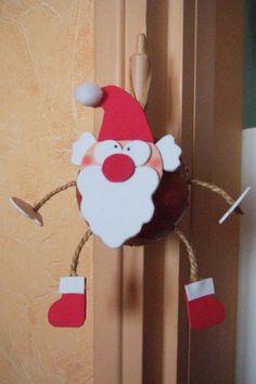 Festif Père Noël décoratif Grasshead jouet cadeau jeux gadgets