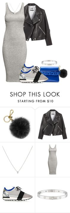 """""""Untitled #184"""" by styledbykayj ❤ liked on Polyvore featuring Michael Kors, Acne Studios, Nanis, H&M, Balenciaga and Cartier"""