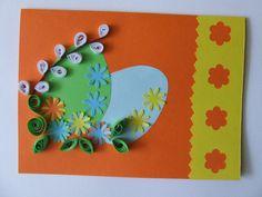 MagiczneKlimaty: kartki Wielkanoc quilling