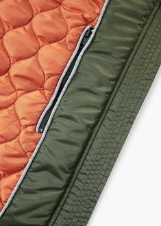 Patches nylon bomber jacket