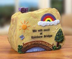 Pet Memorial Message Rock Rainbow Bridge Banberry Designs,http://www.amazon.com/dp/B00FFAUZOQ/ref=cm_sw_r_pi_dp_lruxsb13SN10FVHV