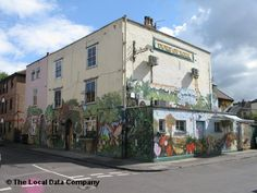 Duke of York - Bristol - proper pub with great graffiti covered beer garden, actual skittle alley and yummy choice of drinks