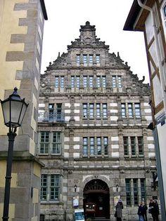 Rattenfängerhaus Hameln, erbaut 1602.
