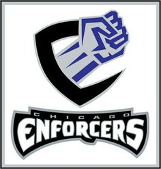 Chicago Enforcers  XFL Logo (2001) 59de17c9a