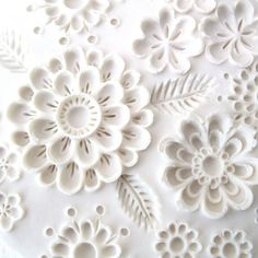 - Wall Sculpture - Cottage Garden - Unglazed, Highly Textured, White Porcelain Wall Sculpture - Cottage Garden ~ C-UrchinWall Sculpture - Cottage Garden ~ C-Urchin Cold Porcelain, White Porcelain, Soap Carving, Ceramic Clay, Clay Projects, Wall Sculptures, Clay Art, Textures Patterns, Surface Design