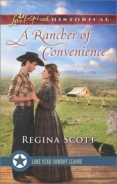 Regina Scott - A Rancher of Convenience / https://www.goodreads.com/book/show/29502788-a-rancher-of-convenience?from_search=true&search_version=service