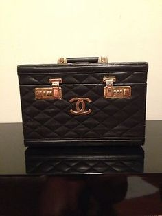 Quilted Chanel Train Case