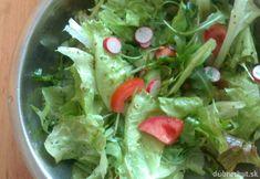 Zeleninový šalát ako príloha