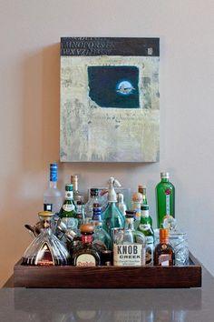 f612f7cdbc92 38 Best Drinks Tray Inspiration images
