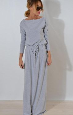 Sexy long sleeve one shoulder maxi dress. summer dresses and beach fashion. modest spring dresses and cute summer dresses for women. Beautiful Maxi Dresses, Casual Summer Dresses, Summer Dresses For Women, Spring Dresses, Dress Casual, Awesome Dresses, Beach Dresses, Dress Summer, Beauty