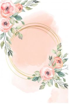 Floral Wallpaper Phone, Framed Wallpaper, Flower Background Wallpaper, Flower Backgrounds, Background Patterns, Wallpaper Backgrounds, Wallpapers, Flower Graphic, Instagram Frame