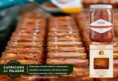 Fabricando nuestro pimiento caramelizado, macerado con moscatel, una delicia para el paladar de nuestros chefs y consumidores.