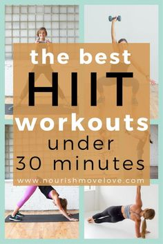 from bodyweight to kettlebells and timed intervals to repetitions; these 8 workouts are the best high intensity interval training workouts under 30 minutes. Kettlebells, dumbbells, bodyweight, traveling workouts.