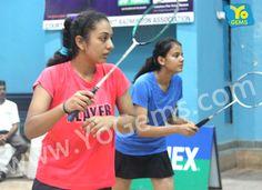 Congratulations Shehjar Chowdhury & Ria Mittal for being runner-ups, 21-9, 21-8 in Girls Doubles U17 YoGems Badminton Championship series,Noida