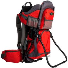 55086d110cd Clevr Canyonero Camping Baby Backpack Hiking Kid Toddler Child Carrier with  Stand   Sun Shade Visor
