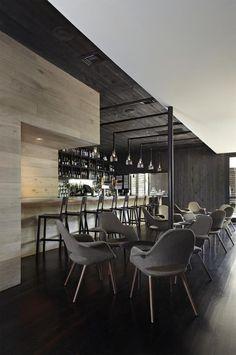 Icenhauer's bar interior on Rainey Street design by Michael Hsu