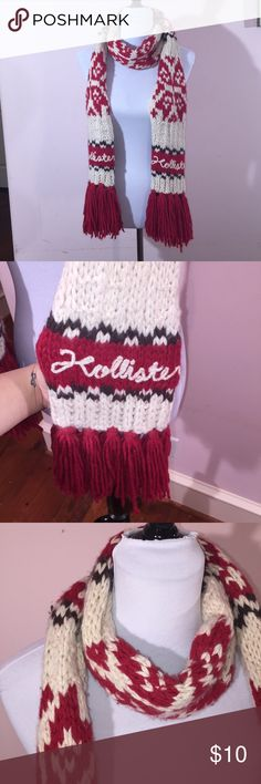 BLACK FRIDAY SALE Hollister Scarf WARM Tribal ❤️Excellent condition ❤️Next day shipping  ❤️15% off for 2 items or more bundle Hollister Accessories Scarves & Wraps