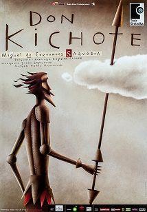 Don Kichote - Cervantes, plakat teatralny
