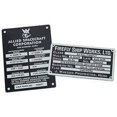 Firefly Metalized Sticker Set
